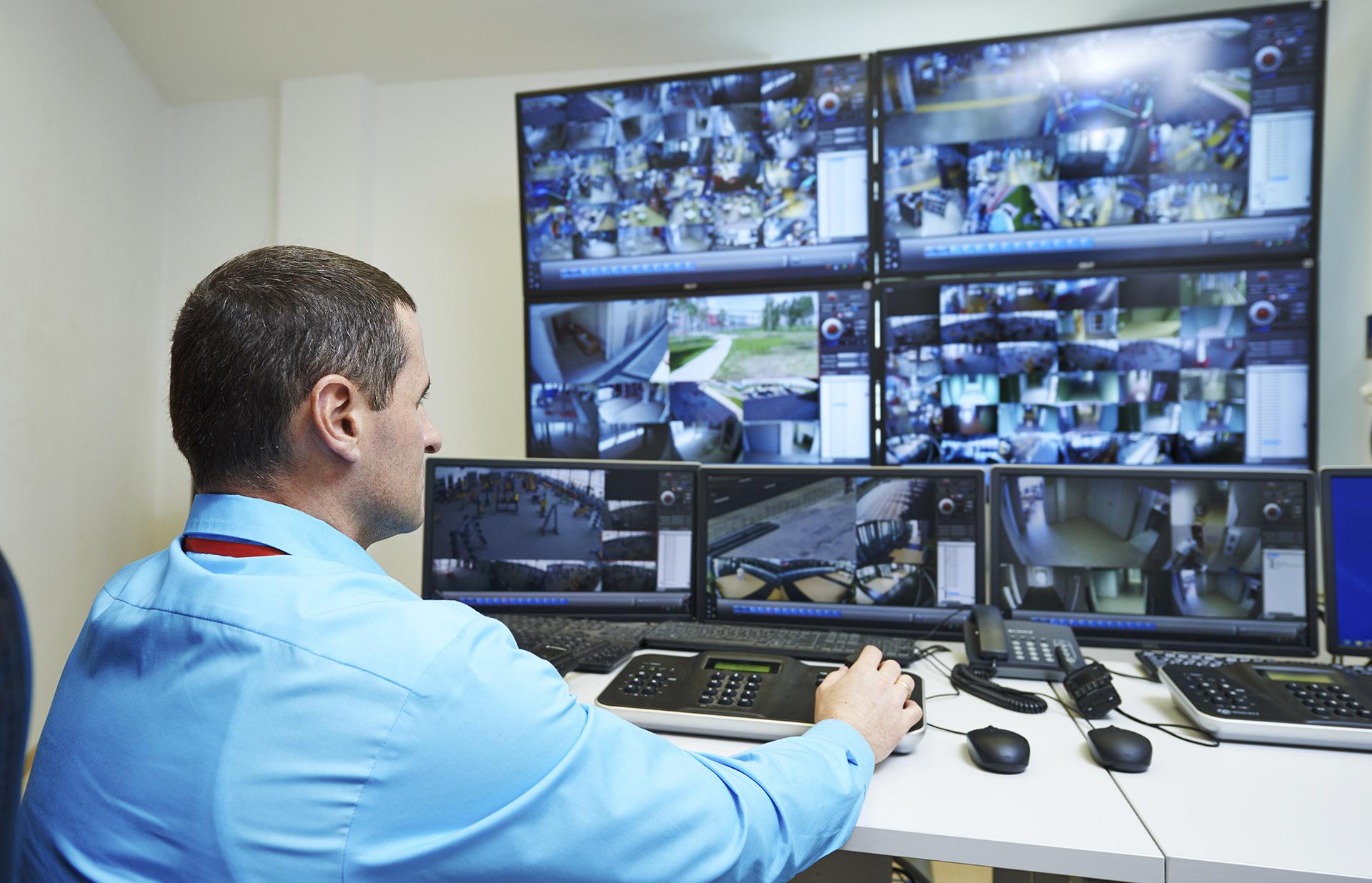 Sistemas de Videovigilancia CCTV monitor